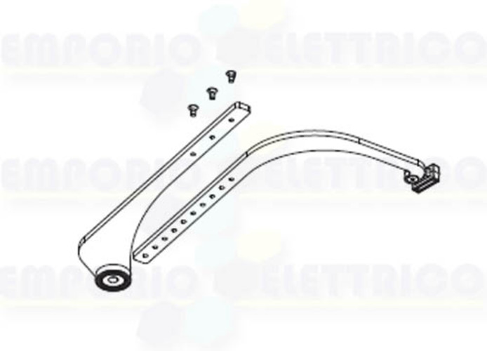 came right curved adjustable transmission arm voilà 001vlr09dx vlr09dx