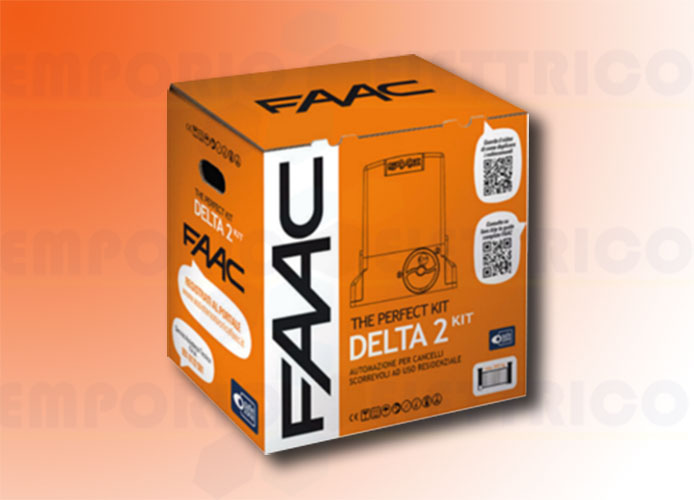 faac automation kit 230v ac delta2 kit perfect 105914fr