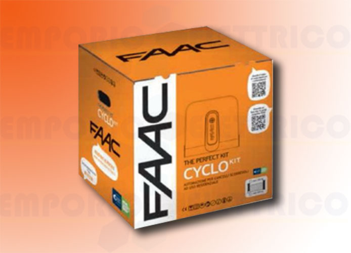 faac automation kit 24v dc 400 kg cyclo kit perfect 105916fr