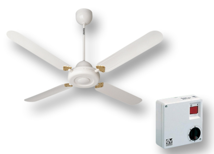 vortice white ceiling fan kit nordik decor is 90/36