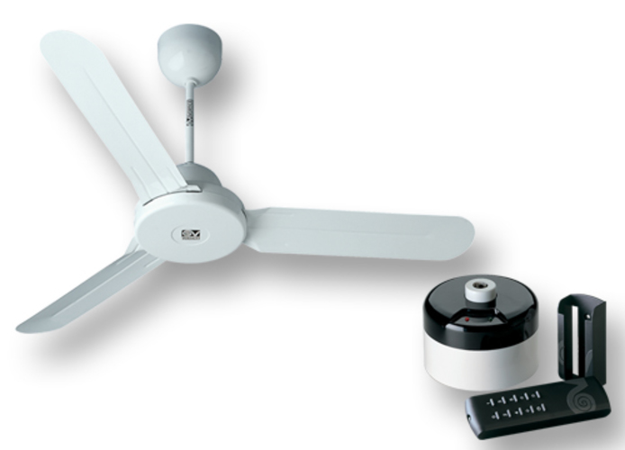 vortice white ceiling fan kit nordik design is 120/48